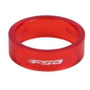 "FSA Spacer 1/8"" 10mm - Rojo"