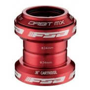 "FSA ORBIT MX 1-1/8"" - ROJO"