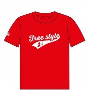 NOKAIC CAMISETA FREESTYLE - ROJO (JUNIOR L)