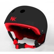 NOKAIC CASCO - CHOCOLATE/ROJO (S)