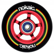NOKAIC RUEDAS PACK (2u.) - NEGRO/ROJO