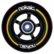 NOKAIC RUEDAS PACK (2u.) - NEGRO/NEGRO