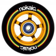NOKAIC RUEDAS PACK (2u.) - NEGRO/DORADO