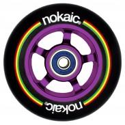 NOKAIC RUEDAS PACK (2u.) - NEGRO/LILA