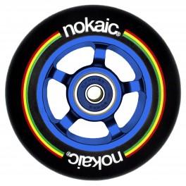 NoKaic Ruedas 100mm Pack (2u.) - Negro/Azul