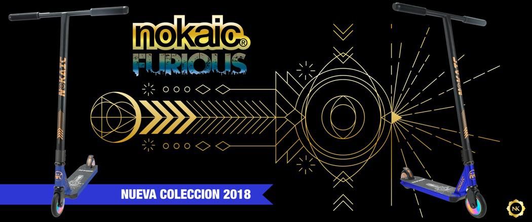 Nokaic Furious 2018 - Azul