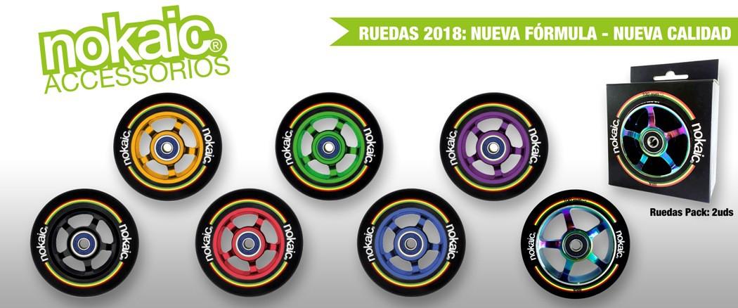 NoKaic Ruedas Pack 100